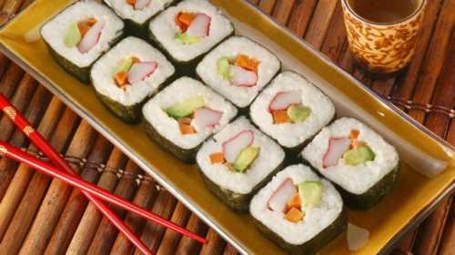 суши диета, как похудеть, употребляя роллы и суши